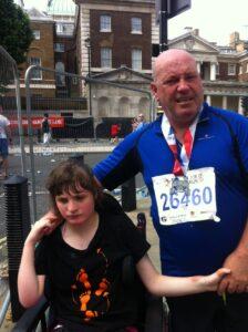 Amy Allen and Richard British 10k 2