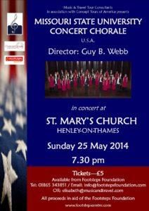 Henley concert poster