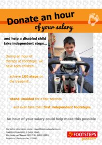 Donate an hour 2014 A5 leaflet Front