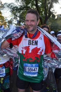 Ben Peterson NYC marathon